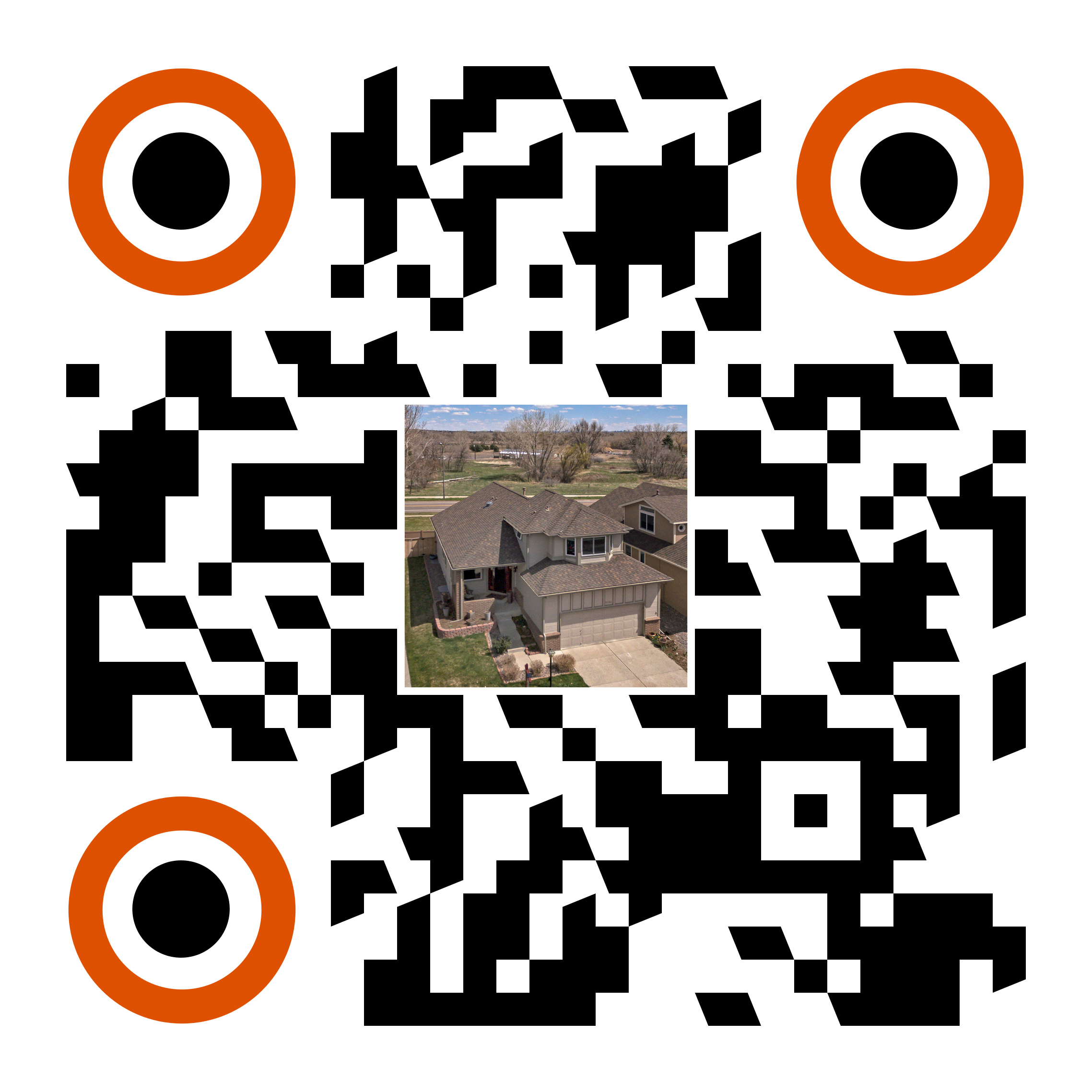 Custom QR code by R